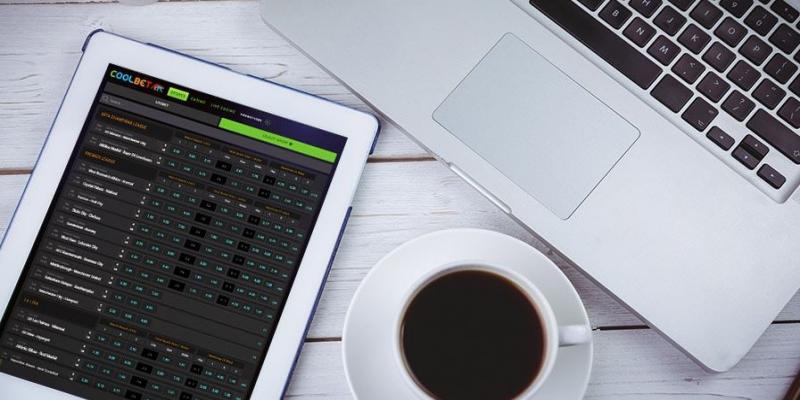 Online wetten laptop